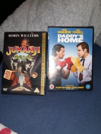 DVDs brand new