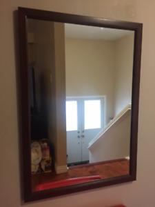 big hall mirror 76 x 107 cm