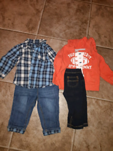 6-9 Month Boy Clothes and Sneakers!