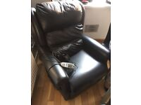 Relaxor electric leather arm chair