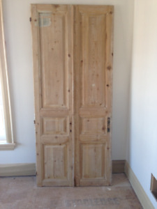 Antique Egyptian doors from Cairo