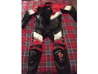 Alpine stars 1 piece leather suit