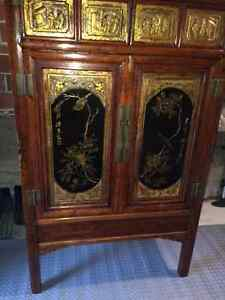 Chinese Antique Wardrobe or Cabinet