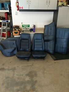 Seats and side panels for 71,72,73 cougar or mustang