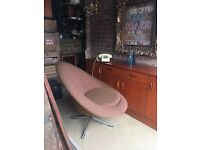 1960s SWIVEL LOUNGE CHAIR FREE DELIVERY ARMCHAIR RELAXING CHAIR