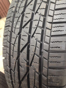 4  Firestone  Summer tires 215-70-16