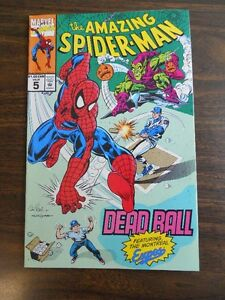 Comic The Amazing Spiderman -  Vol. 1 No. 5 1993 Montreal Expos