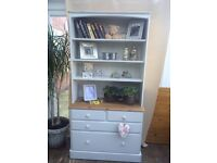 Ducal pine bookcase display unit
