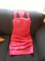 Chic Cocktail dress - Coral - Size Small
