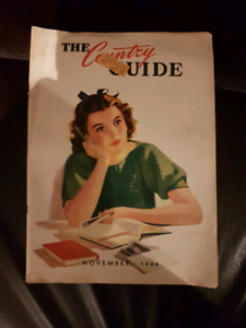 Vintage The Country Guide Magazine