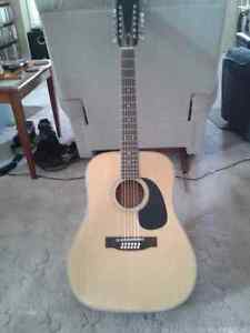 Castilla  12 string acoustic guitar,