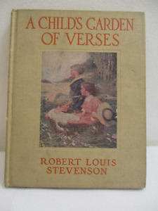 A Child's Garden of Verses - Illustrated by Florence Storer 1918