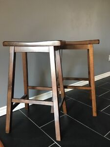 Bar Height Saddle Stools