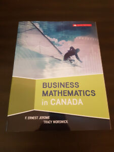 NSCC Textbook - Business Math in Business - 9th Edition
