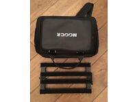 Mooer PB10 Pedal Board for 10 mini pedals, Case & Daisy Chain x 10