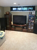 Entertainment / Wall Unit w/ Fireplace