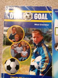 3 Football Academy paperbacks books