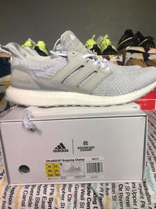 Men's Size 14 Reigning champs x adidas ultra boost Running Shoe