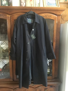 Ralph Lauren - water repellent - spring coat - black