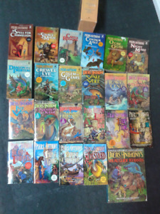 22 Piers Anthony Xanth novels and a Visual Guide to Xanth
