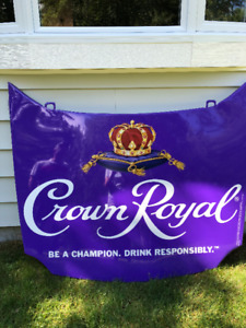Nascar Crown Royal Engine Hood