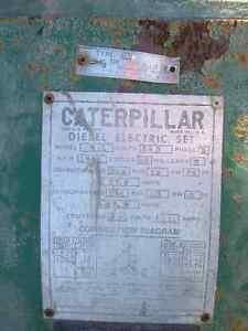Antique 21KW Generator - Caterpillar Model 311 Peterborough Peterborough Area image 2