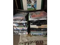 Dvd's and xbox 360 games for sale