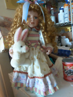 Antique Immaculate Collectable Porcelain Dolls