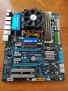 AMD Quad Core Combo CPU/MOBO/RAM