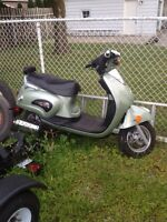 2008 gas scooter