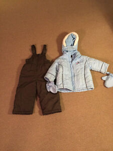 Toddler girl size 2 Alpintek winter coat and snow pants