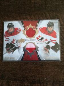 2016 Team Canada DUAL JERSEY Natalie Spooner/Rebecca Johnston
