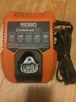 Ridgid chargeur 12v charger lithium ion