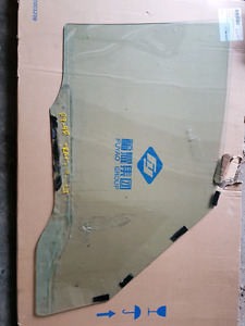 1989 to 98 chevy tracker 4dr drivers window.