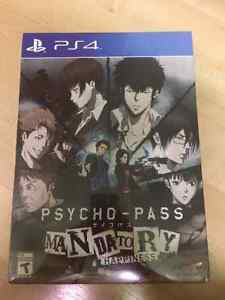 Psycho-Pass Mandatory Happiness PS4 Limited Edition