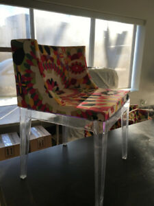 PUCCI DESIGNER DINING ROOM CHAIRS