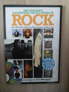 The Harmony Illustrated Encyclopedia Of Rock Book.