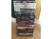 Dvd's and Xbox 360 games.