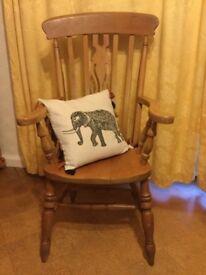 Pine Farmers Chair