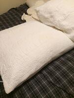 Amity Home White Pillows & Cuddledown Inserts