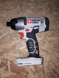 New Porter Cable Impact 20 voltTool only