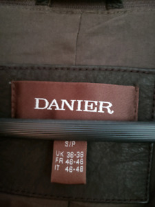 Brown Leather Danier Jacket