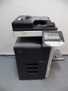 Cherche Copieur/Imprimante Minolta Bizhub, c203 c253 c353