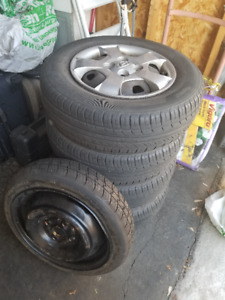 All Season Tires and Rims – Spare Tire