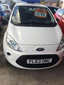 2013 FORD KA STUDIO HATCHBACK PETROL