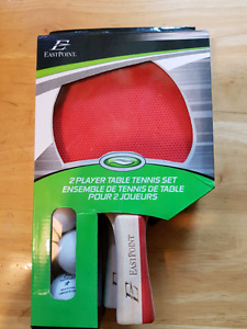 2 PLAYER TABLE TENNIS SET  (GREAT PRICE)