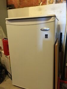 Small Fridge, and Large Freezer