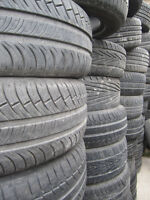 Pneus Usages 18 po. Used Tires! GRAND VENTE! HUGE SALE!