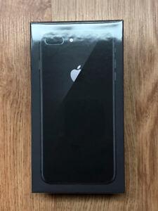 New Sealed iPhone 8 Plus 64GB Space Grey Unlocked Apple Warranty