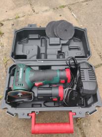 Parkside 12V Grinder + Spare Battery and discs